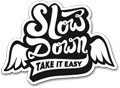commander le sticker Slow Down gratuitement